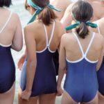 【画像】女子中学生のスクール水着