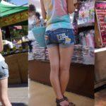 【画像】夏休み 街角の少女達①
